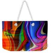 Abstract #35 Weekender Tote Bag
