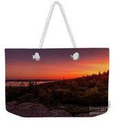 Acadia National Park Sunrise  Weekender Tote Bag