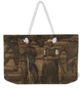 Albin Egger-lienz 1868 - 1926 The Ages Of Life Weekender Tote Bag