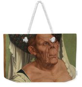An Old Woman  The Ugly Duchess   Weekender Tote Bag