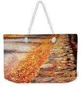 Autumn Avenue Weekender Tote Bag