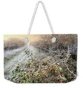 Autumn Frosts Weekender Tote Bag