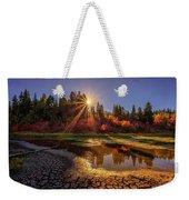 Autumn Sun Weekender Tote Bag