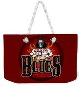 Bad Luck Blues Weekender Tote Bag
