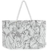 Before The Last Supper Weekender Tote Bag by Anthony Falbo