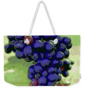 Blue Grape Bunches 6 Weekender Tote Bag