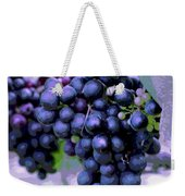 Blue Grape Bunches 7 Weekender Tote Bag