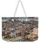Boston Government Center, North End And Harbor Weekender Tote Bag