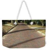 Brick Road In Palatka Florida Weekender Tote Bag