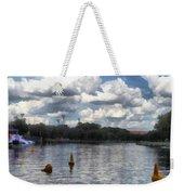 Buoys In The River Weekender Tote Bag