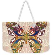 Butterfly Illustration - Transforming Rainbows  - Omaste Witkowski Weekender Tote Bag by Omaste Witkowski