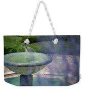 Castel Fountain Weekender Tote Bag