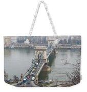 Chain Bridge. Weekender Tote Bag