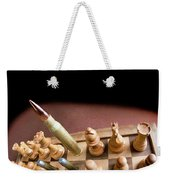 Chess Board And Bullets. Weekender Tote Bag
