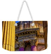 Columns Of The Palace Of Fine Arts Weekender Tote Bag
