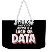 Computer Data Science Big Data Geek Pun Apparel Weekender Tote Bag