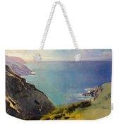 Cornish Headlands  Weekender Tote Bag