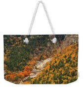 Crawford Notch Fall Foliage Weekender Tote Bag
