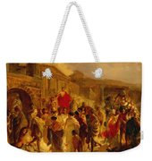 Death Of Virginia Study  Weekender Tote Bag