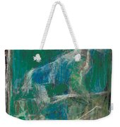 Dog In A Garden Weekender Tote Bag
