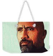 Dwayne Johnson Artwork Weekender Tote Bag