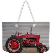 Farmall M And Steel Weekender Tote Bag