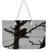 Feathered Friend Weekender Tote Bag