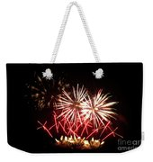 Firework Display Weekender Tote Bag