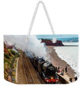 Flying Scotsman On An Evening Run Weekender Tote Bag