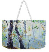 Forest Sunrays Weekender Tote Bag