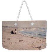 From The Beach At Sele  Weekender Tote Bag