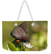 Great Purple Hairstreak Weekender Tote Bag