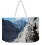 Grey Mountains Weekender Tote Bag
