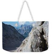 Grey Mountains Weekender Tote Bag