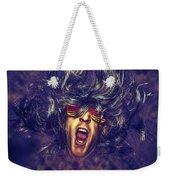 Heavy Metal Rock Star Weekender Tote Bag
