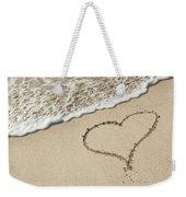 I Love The Beach Weekender Tote Bag
