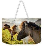 Icelandic Horses Weekender Tote Bag