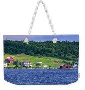 Lahave, Nova Scotia Weekender Tote Bag