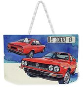 Lancia Beta 1300 Weekender Tote Bag