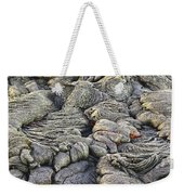 Lava Peeking At Us Weekender Tote Bag by Jim Thompson
