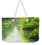 lily Pond reflections Weekender Tote Bag
