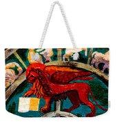 Lion Of St. Mark Weekender Tote Bag