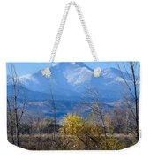 Longs Peak In The Fall  Weekender Tote Bag