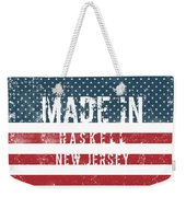 Made In Haskell, New Jersey Weekender Tote Bag