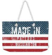 Made In Pateros, Washington Weekender Tote Bag