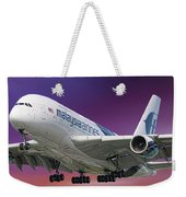 Malaysia Airlines Airbus A380-841 Weekender Tote Bag