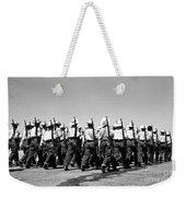 March At Airport Weekender Tote Bag