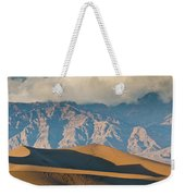 Mesquite Flat Sand Dunes At Sunset Weekender Tote Bag
