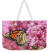 Monarch Butterfly Weekender Tote Bag by Debbie Stahre