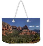 Mormon Canyon Panorama Weekender Tote Bag by Andy Konieczny